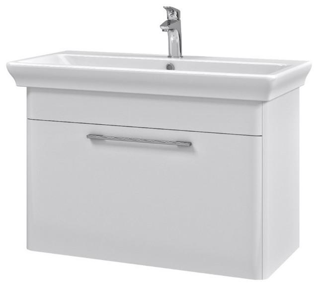 "32"" Bathroom Vanity Set, White"