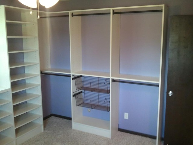 Bedroom into closet - Traditional - Closet - Other - by Custom ...