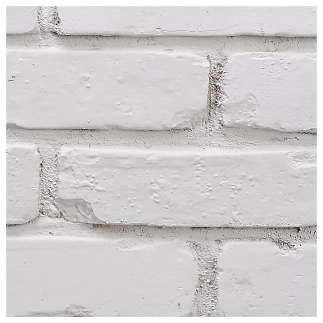 Buyfauxsone Chicago Brick Wall Panel, Sample-Stone White.