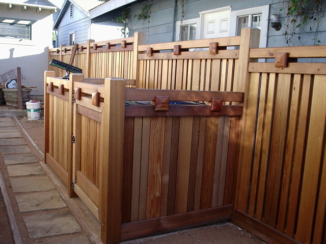 Mission Hills Craftsman Fence Craftsman San Diego By