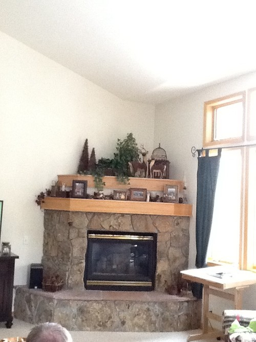 - Corner Fireplace Update