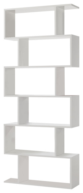 Athena Tall Shelving Unit White
