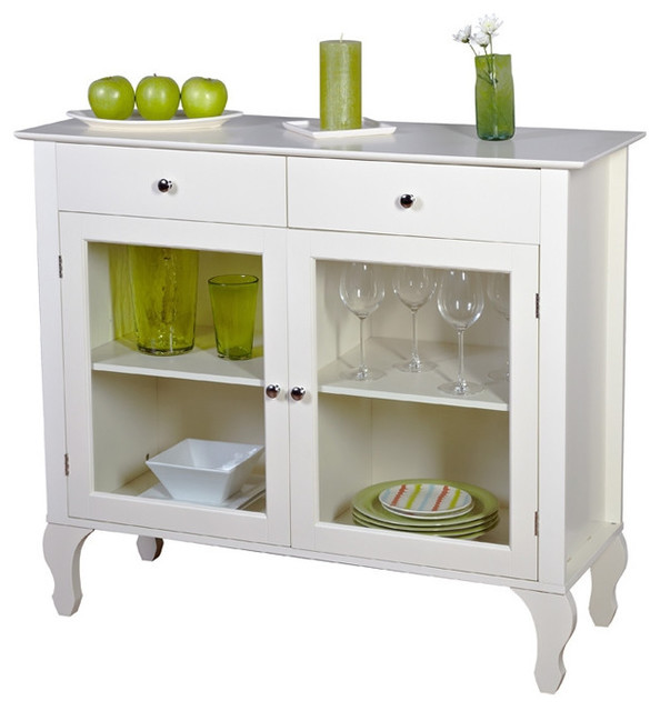 Buffet Table With Storage Underneath ~ Hilton furnitures antique white sideboard buffet console