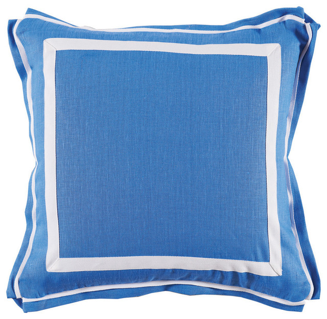 Lacefield lacefield royal blue throw pillow reviews for Royal blue couch pillows