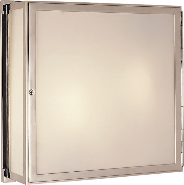 Mercer Square Box Light bathroom-vanity-lighting  sc 1 st  Houzz & Mercer Square Box Light - Bathroom Vanity Lighting - by Circa Lighting azcodes.com