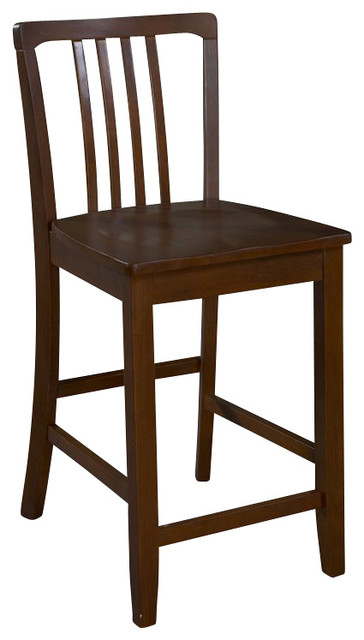 Admirable Linon Navy Sapele Counter Stool In Espresso Unemploymentrelief Wooden Chair Designs For Living Room Unemploymentrelieforg
