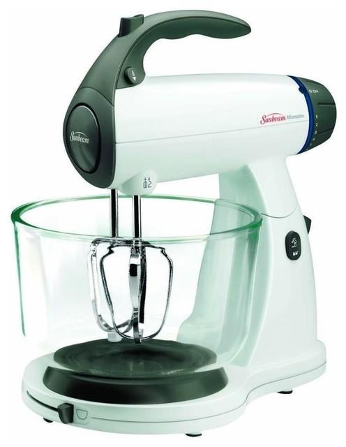 Sunbeam Mixmaster Stand Mixer, 350 Watt, 12 Speeds, White.