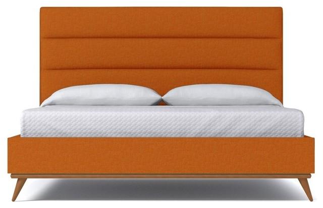 Cooper Upholstered Bed From Kyle Schuneman Stone Stone Queen