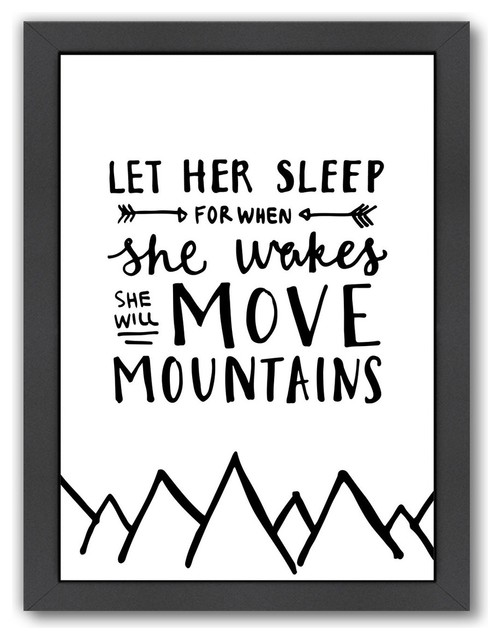 Move Mountains Hand Lettered Print
