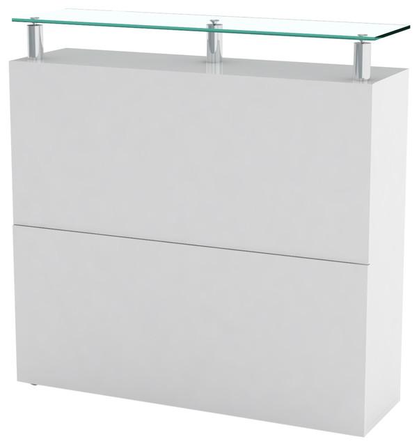 Kalava Shoe Storage Unit, White