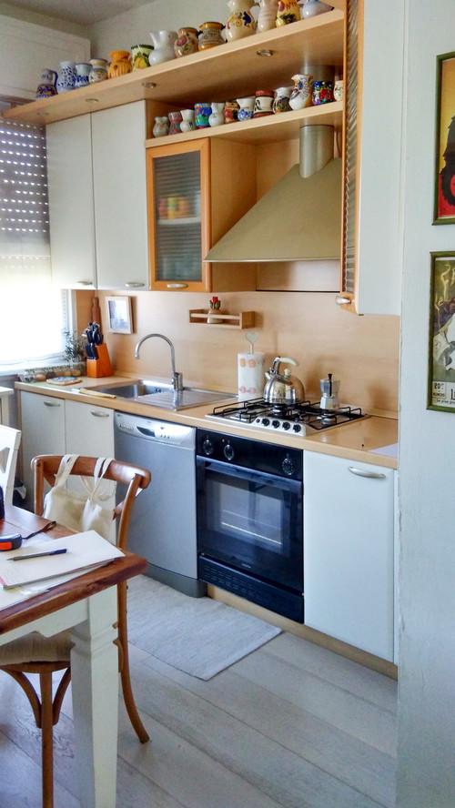 Una vecchia cucina per una nuova casa - Modernizzare vecchia cucina ...