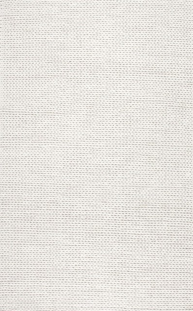 Nuloom Wool 10&x27;x14&x27; Rectangle Area Rug, Off-White.