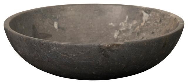 Noir Marble Bowl Decorative Bowls Houzz