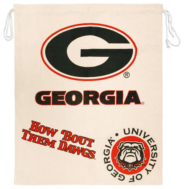 Ncaa Licensed Collegiate Laundry Bag, University Of Georgia.