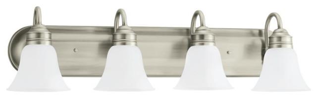 Sea Gull Gladstone 4-Light Wall/Bath Light 44853EN3-965, Antique Brushed Nickel