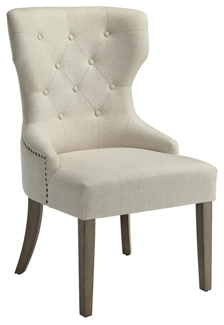 Groovy Donny Osmond Home Florence Accent Side Chair Beige Caraccident5 Cool Chair Designs And Ideas Caraccident5Info