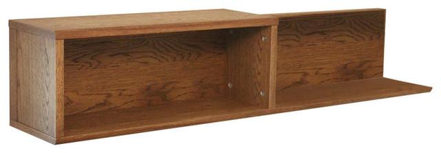 Olten Oiled Oak Wall Shelf