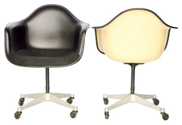 Vintage Herman Miller Eames Shell Office Chairs