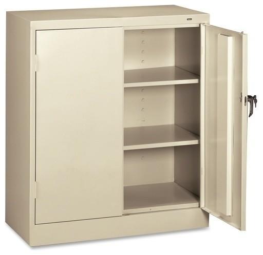 Tennsco Counter-High Storage Cabinet - Contemporary ...
