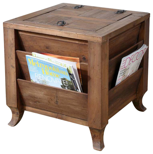 Side Tables With Storage matthew williams rimmon traditional side table - transitional