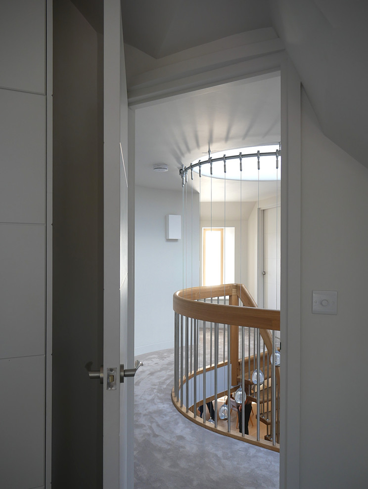 View to landing from third bedroom