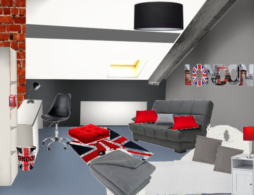 Relooking chambre ado style london - Relooking chambre ado fille ...
