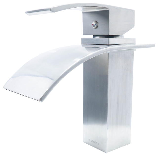 Dyconn Faucet Fraser Brushed Nickel Modern Bathroom Faucet