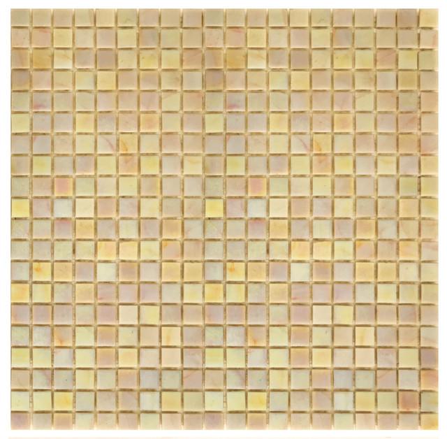 12.5x12.5 Gold Rush Tile, Iridescent Gold