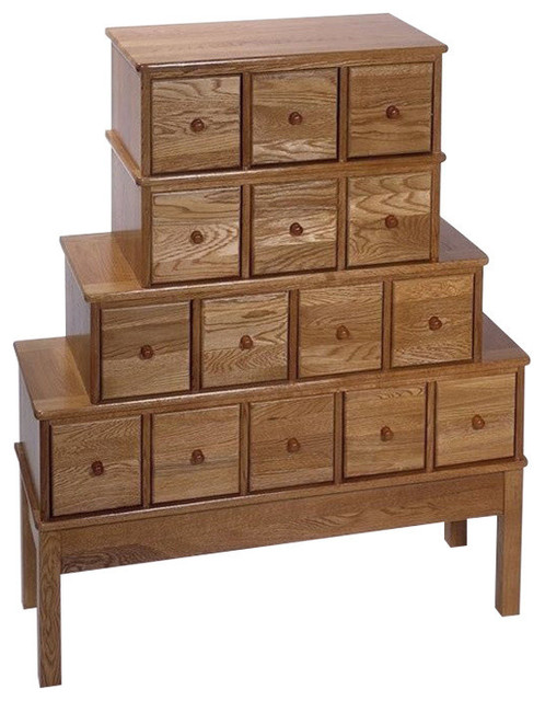 Pemberly Row 15 Drawer Cd Dvd Storage Cabinet Transitional Media Cabinets By Homesquare