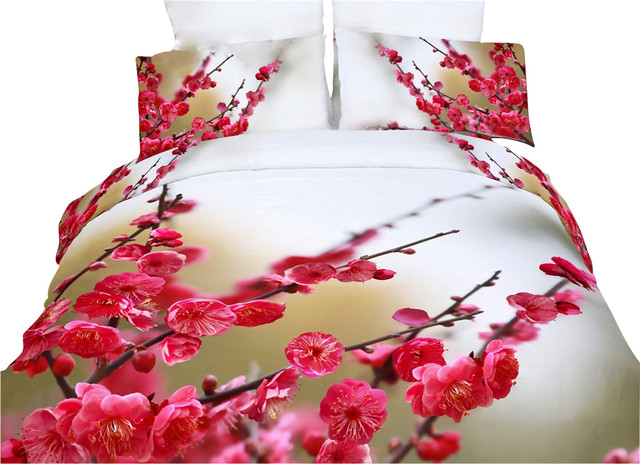 Luxury Modern Fl Duvet Set Bedding Dolce Mela Dm443 King