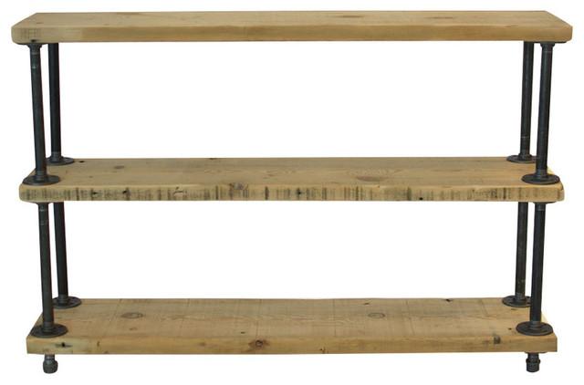 urban barn wood shelving unit shelf reclaimed wood 12x36x35 natural wood industrial