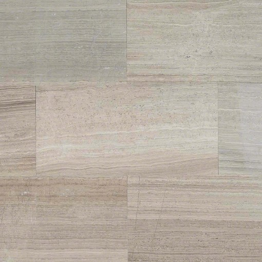 Gray Oak Honed Marble Tile Sample Traditional Wall And Floor