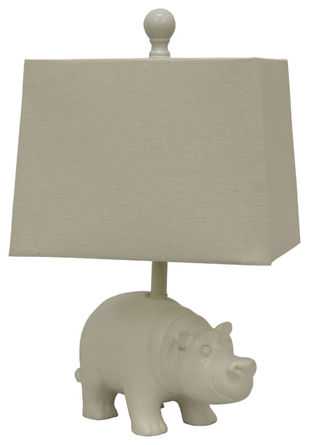Shop Houzz Decor Therapy Happy Hippo Table Lamp Table