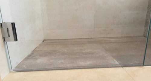 Frameless Shower Door Gaps