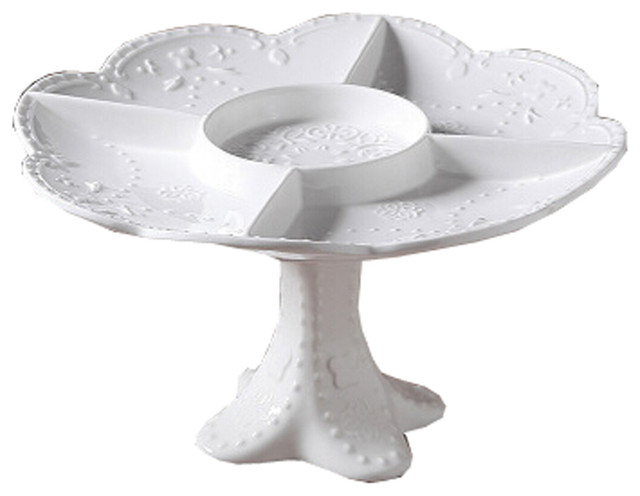 Ceramics Serving Dishes Tray And Platter Nuts Plate Traditional Platters By Blancho Bedding