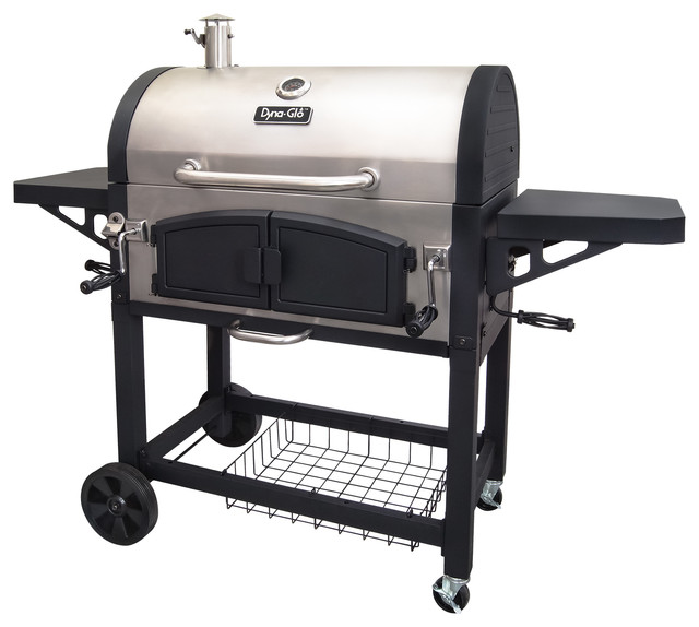 Dyna-Glo X-Large Premium Dual Chamber Charcoal Grill.