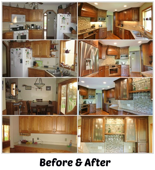 Kitchen And Dining Room Remodel   Before/after