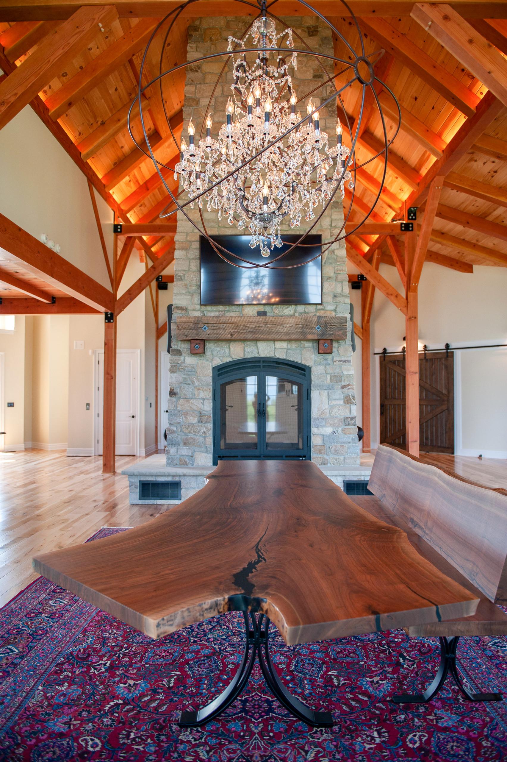 Addition: Solomon Estates Timber frame