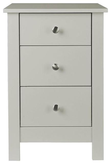 Florence Bedside Cabinet, Grey