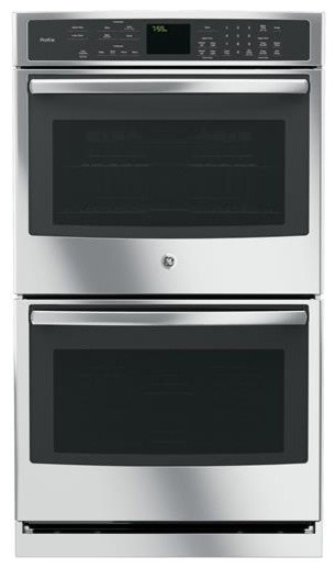 """Geprofile Series 30"""" Built-In Double Wall Oven With Convection."""