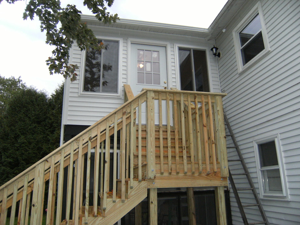 Second Story Sunroom Addition + Stairs