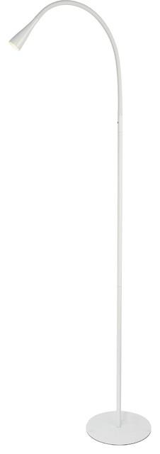 Illumen Led Desk Lamp, Finish: Glossy White.