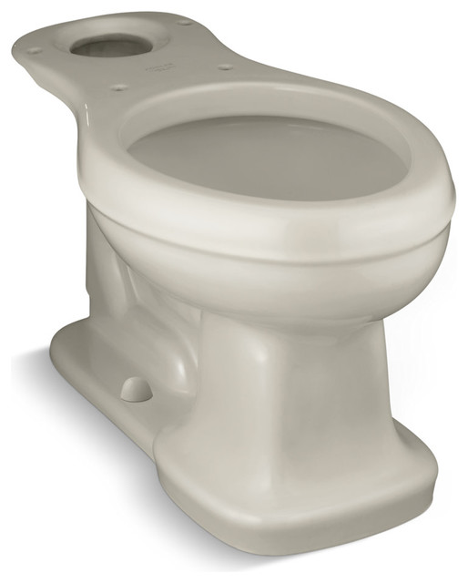 Wondrous Kohler K 4067 Elongated Comfort Height Toilet Bowl Only From The Bancroft Colle Forskolin Free Trial Chair Design Images Forskolin Free Trialorg