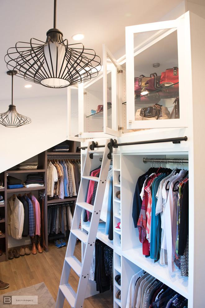 Eclectic Custom Closet and Dressing Room