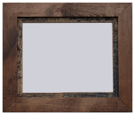 rustic wood frame myrtle beach series 11x14 farmhouse picture frames - My Barnwood Frames