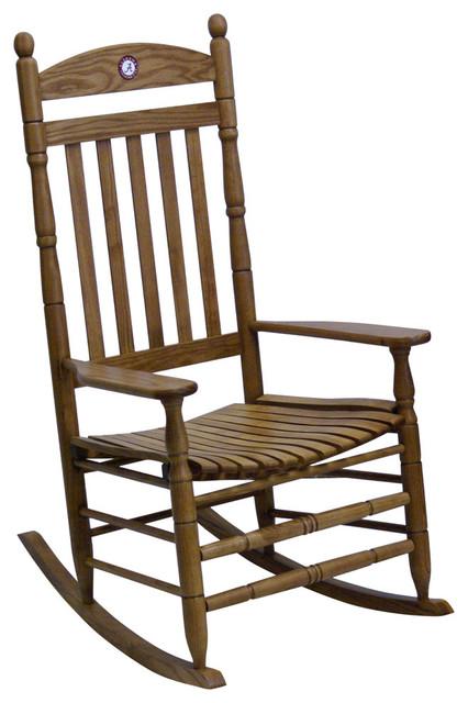 Beau Hinkle Chair, Alabama Maple Collegiate Rocking Chair