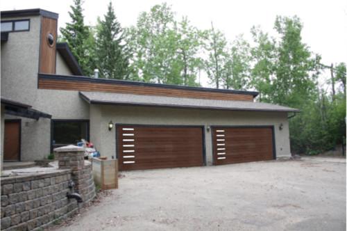West Coast Modern Restoration  Garage Doors.