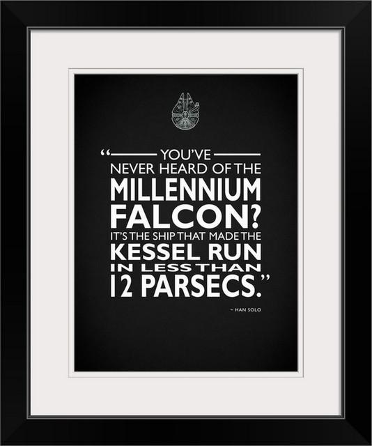 "Star Wars - Millenium Falcon"" Black"