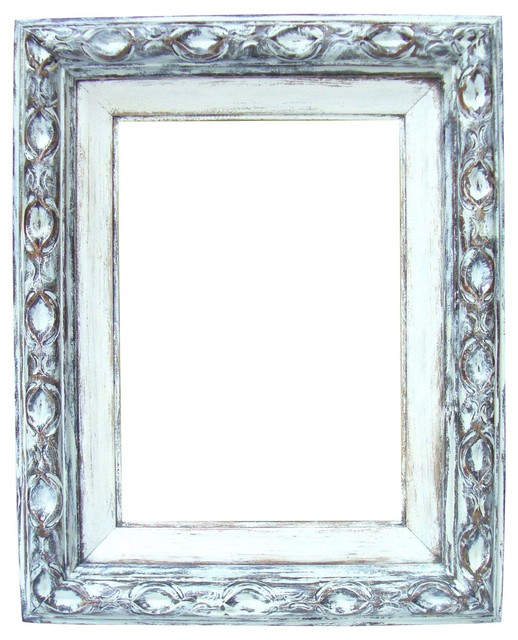 Consigned Antique French Bronze Gilt Hand-Painted Wood Frame ...
