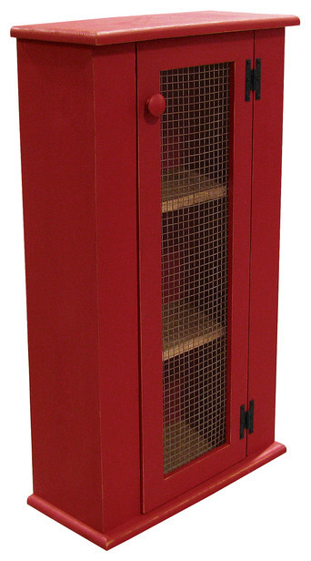 Jelly Cabinet Top, Old Red.